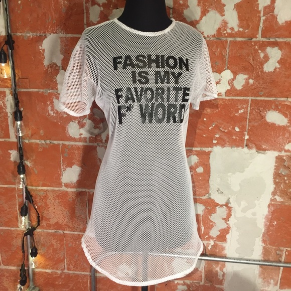 Other - LAYANA AGUILAR FASHION is my favorite F word sz.M